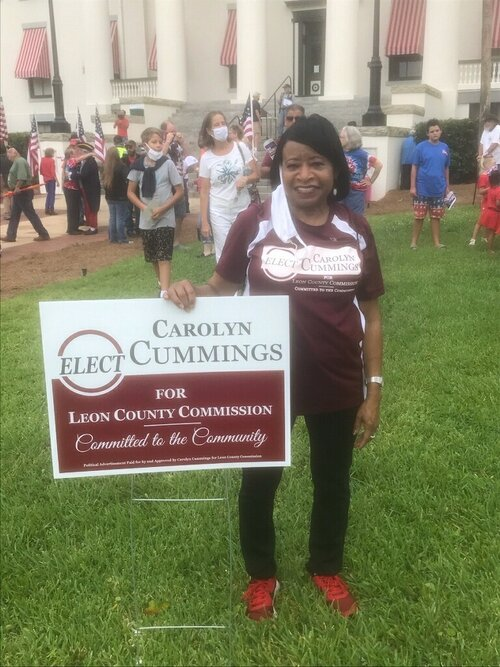 Carolyn Cummings Appears on Above the Fold to Discuss Leon County Commission Campaign