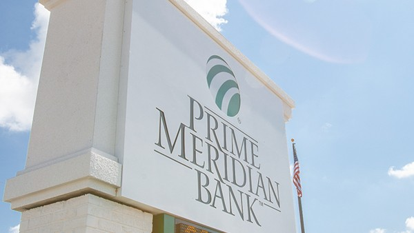 "Prime Meridian Bank Processes $80 Million in ""Paycheck Protection"" Loans"