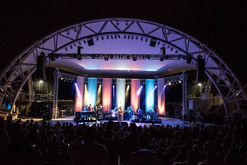 City Commission Approves Agreement for Cascades Concert Series, New Amphitheater Support Space