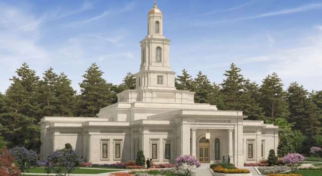 Mormon Church Begins Construction of New Temple