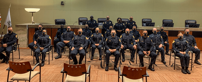TPD Hires 17 New Officers