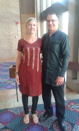 Pastor and Vlasta Wear Indian Clothing to the Tucson International Conference 2015
