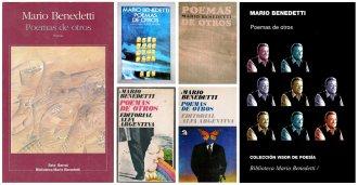 Compilación de carátulas del Libro Poemas de Otro