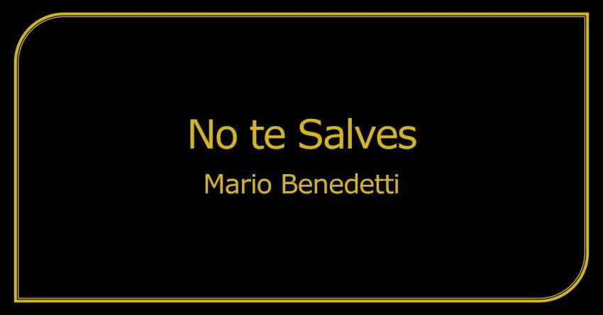 No te Salves