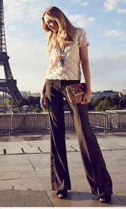 women's 36' inseam pants wideleg