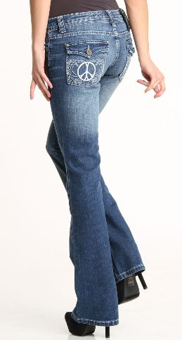 Womens 35 Inseam Jeans