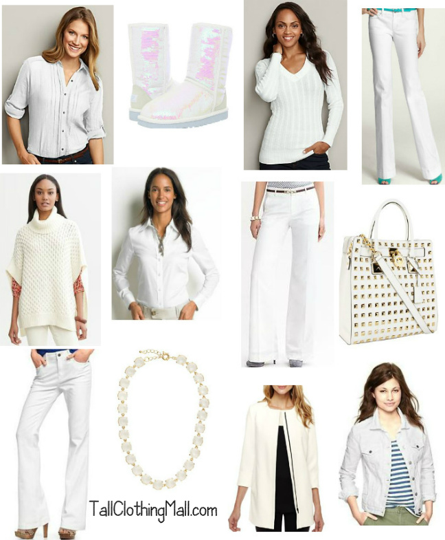 winter whites for tall women