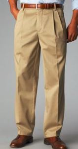 dockers pleated thin and tall khaki pants