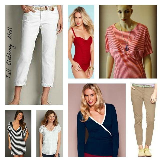 women's tall nautical clothing