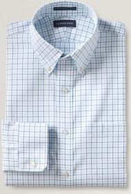windowpane men's tall dress shirt