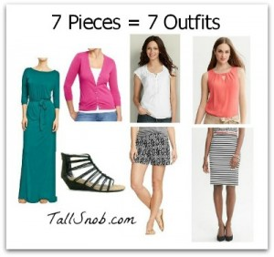 7 tall outfits