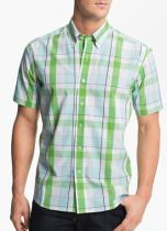 cutter buck tall plaid shirt