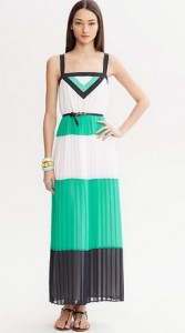 tall colorblocking dress