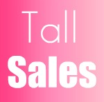 tall clothing sales
