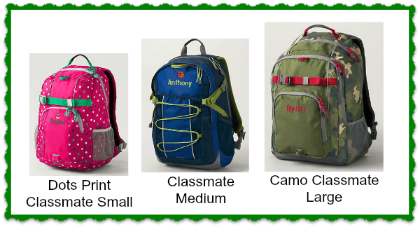 backpacks on sale