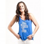 women's tall tank tops