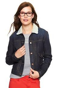 tall denim jacket