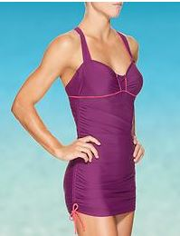 sara tall tankini dress