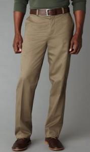 signature tall khaki pants