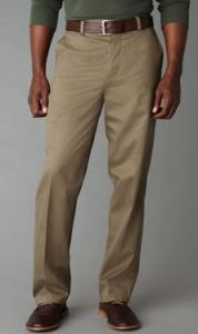 signature tall khaki pants