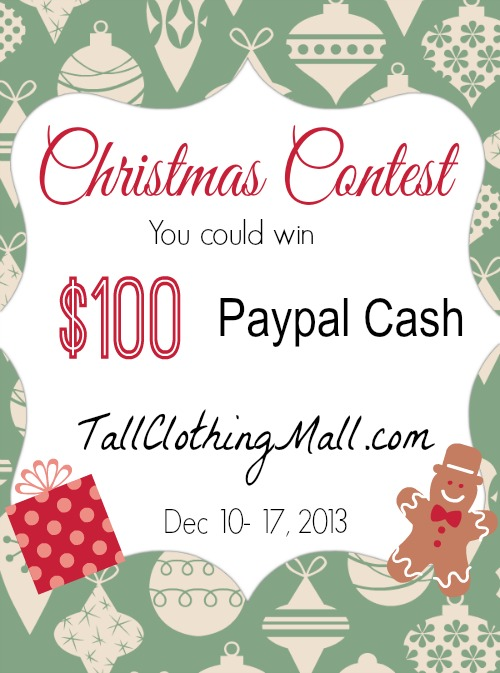 tall clothing mall christmas contest
