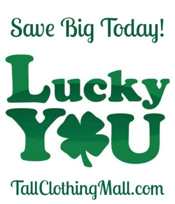 St. Patrick's Day Sale - tall sales
