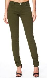 green tall jeggings