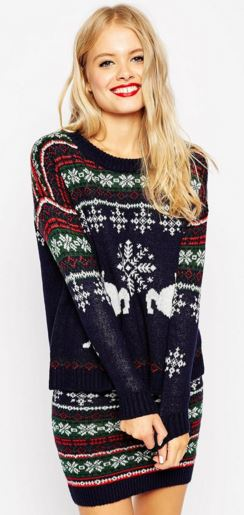tall fair isle sweater womens