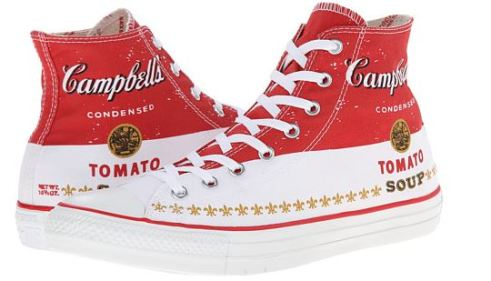 campbell's tomato soup high tops