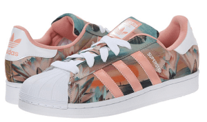 women's floral sneakers