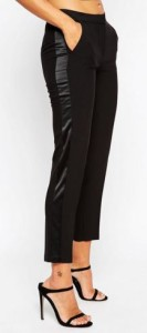 ankle tall tuxedo pants