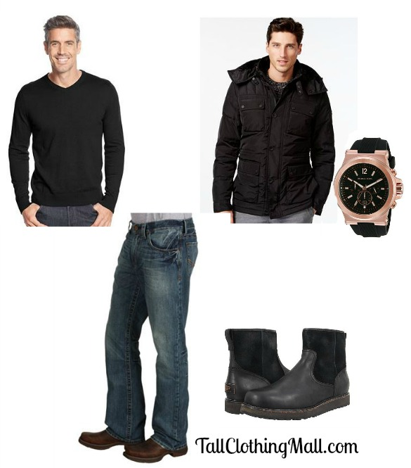 big & tall winter basics