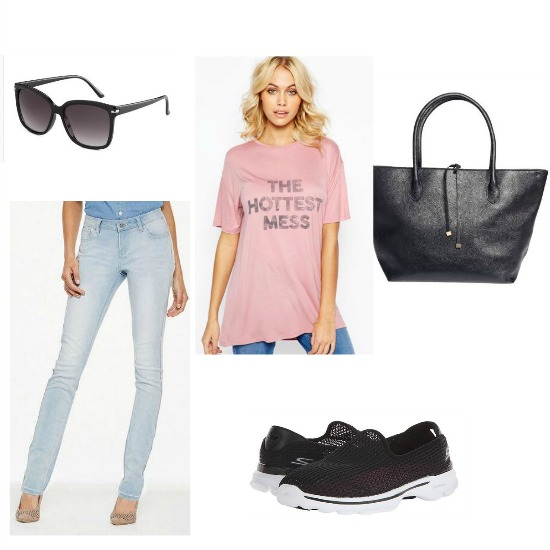 casual outfit to wear to nyc