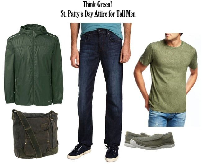 6b91f7a5d St. Patrick's Day Inspired Look for Tall Men - Tall Clothing Mall