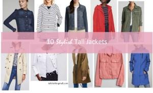 spring tall jackets