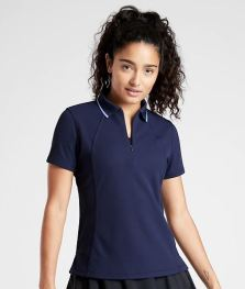 women's tall golf polo