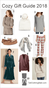 cozy gifts for tall women