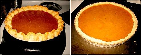 pumpkin pie pumpkin tart