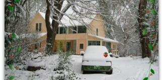 Winter Wonderland on Vashon Island