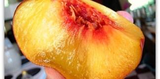 bruised peach