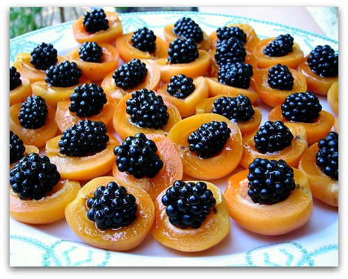 Apricot Appetizer: Easy, Pretty and Berry Tasty