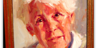 Pam Ingalls painting Phoebe