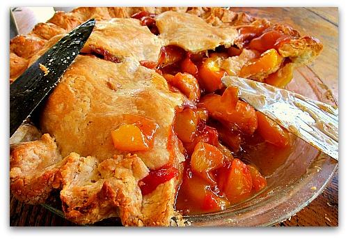 peach pie deluxe oven fresh