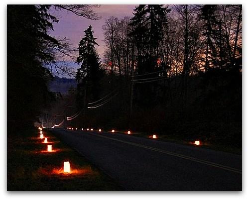 Shining Light on Winter's Darkest Day