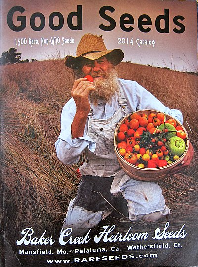 Good Seeds Baker Creek Seed catalog