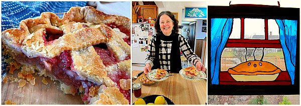 pie cottage rhubarb pie