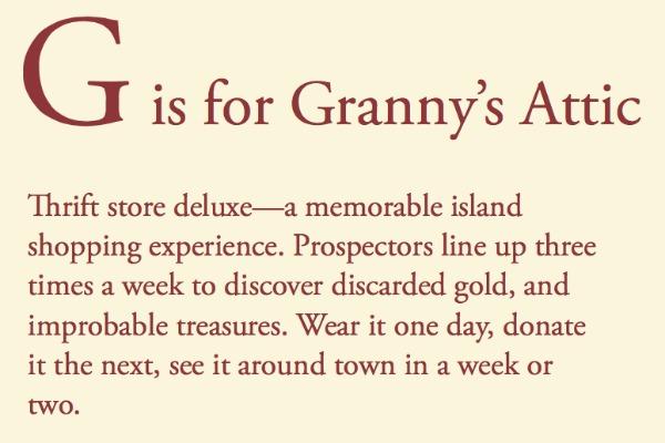 Tom Conway text Granny's Attic