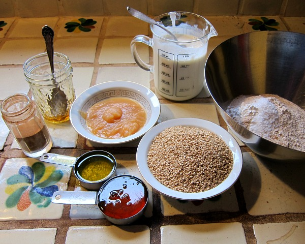 whole wheat waffles ingredients