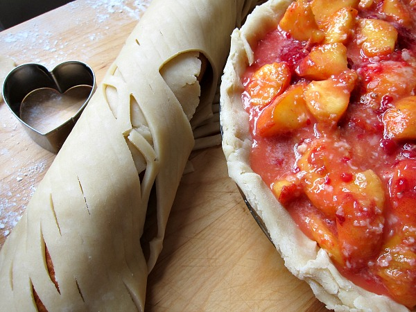 peach melba pie dough