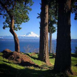 Mt Rainier from Vashon Island